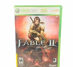 Xbox 360 video game Fable II 2 live complete manual lionhead microsoft 2007 RPG - $16.40
