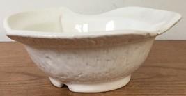 Vtg California Originals Pottery White Mid Century Candy Nut Dish Servin... - $36.99