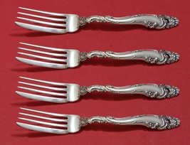 """Decor by Gorham Sterling Silver Fish Fork Set 4pc AS Custom Made 7 1/4"""""""