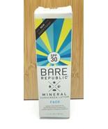 Bare Republic / Mineral Sunscreen Lotion Face  / SPF 30 / Oil Free / 01/... - $12.02