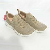 Ryka Heathered Knit Bungee Slip-On Shoes Elia Taupe 7M NIB - $30.00
