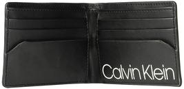 Calvin Klein CK Men's Genuine Leather Slimfold Embossed Logo Wallet 79814 image 9