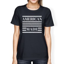 American Made Womens Navy Short Sleeve T-Shirt For Fourth of July - $14.99+