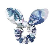 Elegant Rabbit Ears Hair Rope Ponytail Holders Hair Headwear(Blue)