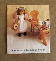 Kirsten's birthday Story photo booklet Pleasant Company American Girl doll - $16.50
