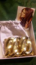 First Lady Melania Trump Open-oval Gold-tone Stretch Bracelet    L6 - $38.61