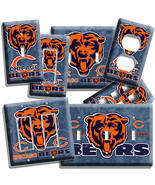 CHICAGO BEARS NFL FOOTBALL TEAM LOGO LIGHT SWITCH OUTLET WALL PLATE COVER GARAGE - $8.09