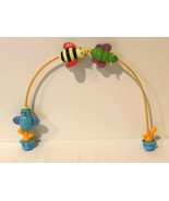 Evenflo Exersaucer Zoo Friends Switch A Roo Bee Bird Replacement Arch To... - $14.99