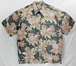 53a9e2f2 Cooke Street Mens Hawaiian Black Reverse Print XL Camp Shirt Cotton LNC ...  -