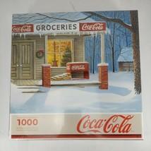 2008 Coca-Cola 'the Corner Store' 1000 Piece Jigsaw Puzzle New Springbok - $17.99