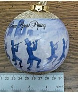 "12 Days Of Christmas 1 ""11 Pipers Piping"" Styrofoam Ball Holiday Ornamen... - $7.91"