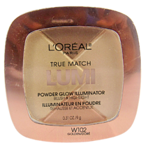 L'Oréal True Match LUMI Powder Glowing Illuminator Blush W102 Golden/Doré - $8.86