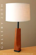 RARE! MID CENTURY DANISH MODERN TEAK LAMP! EAMES RETRO TABLE VTG 50S ATO... - €1.019,46 EUR