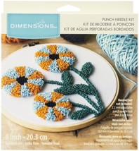 """Dimensions Punch Needle Kit 8"""" Round-Modern Floral Pin - $21.49"""