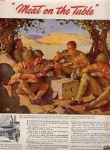 World War 2 MEAT on the Table AD - $13.86