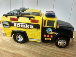 2011 yellow Tonka Construction Truck w/Lights & Sound Tested Working ️ - $19.97