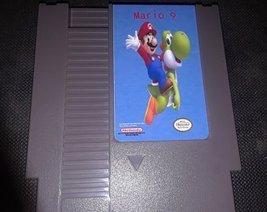 Mario 9 Custom English Nintendo NES - $33.25