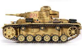 Academy 13531 German Panzer III Ausf.J North Africa Tank Plastic Hobby Model Kit image 3