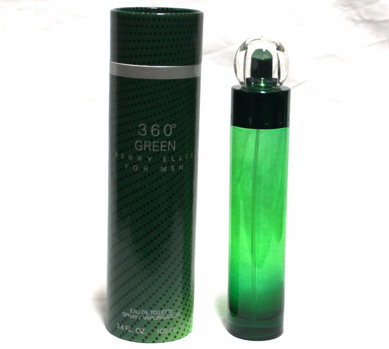 Primary image for 360 GREEN BY PERRY ELLIS for MEN 3.4 FL.OZ / 100 ML Eau De TOILETTE SPRAY