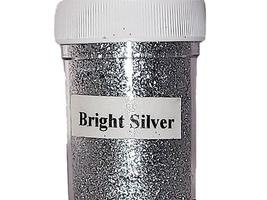 Sparkling Embossing Powder, Bright Silver