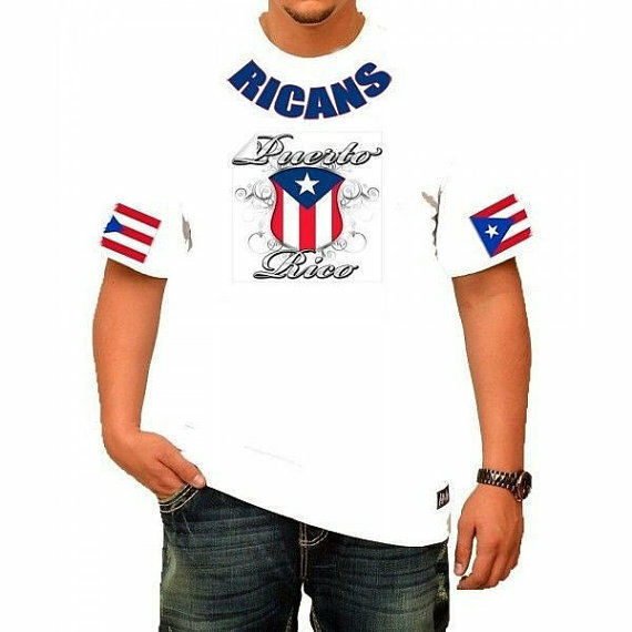 Primary image for Rican's PUERTO RICAN White T-Shirt