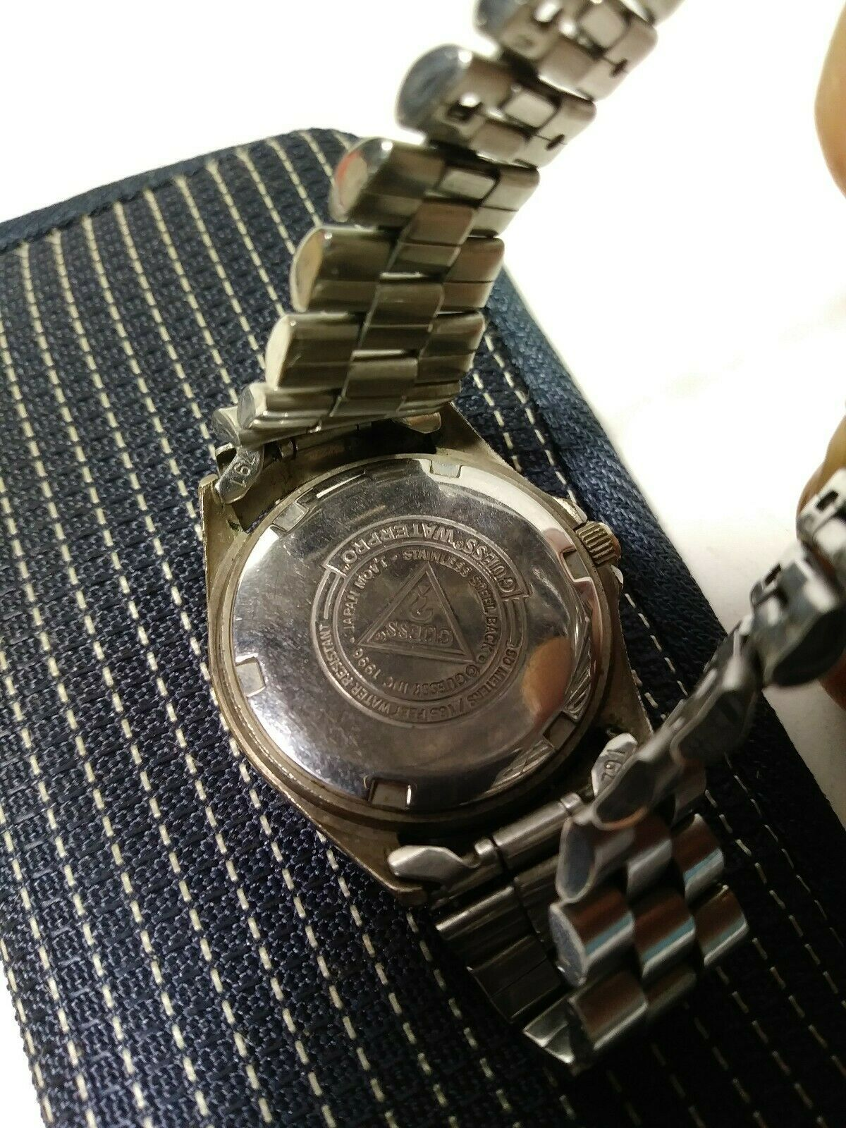 Womens Vintage stainless steel Guess Waterpro watch