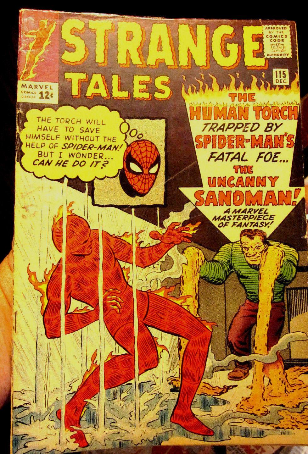 Strange Tales #115 Origin of Dr. Strange Key Steve Ditko Marvel Comics 1963