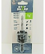 """3/8"""" Professional Quick Change Mandrel 1054282 Stay Sharp by EAB - $18.00"""