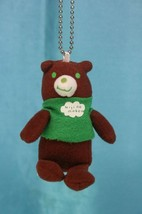 San-X Niji no Mukou Plush Doll Keychain Charms Bear B - $19.99