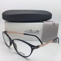 New SILHOUETTE Eyeglasses SPX 1578 75 9020 56-16 135 Black & Bronze Frames image 6