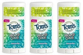 Toms of Maine Natural Wicked Cool Deodorant for Girls Summer Fun 2.25 oz Pa...