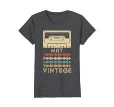 Funny Shirts - Vintage Retro Made In May 1943 75th Birthday Gift 75 yrs ... - $19.95+