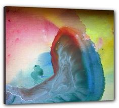 """Stretched Canvas Print 24"""" x 20"""" by Voyageart - Atomic Love - $70.00"""