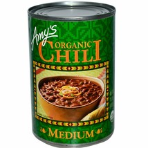 Amy's Organic Medium Chili Bean 14.7 oz ( Pack of 12 ) - $54.44