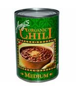 Amy's Organic Medium Chili Bean 14.7 oz ( Pack of 12 ) - $54.44