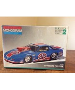 RARE 1991 Monogram 1:24 Scale Model Kit #2933 - STP Firebird Pro Stock -... - $57.95