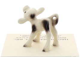Hagen-Renaker Miniature Ceramic Cow Figurine Spotted Mama and Baby Calf image 7