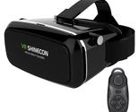 VR SHINECON 3D VR Virtual Reality Headset 3D Glasses Adjust Cardboard