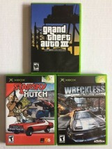 XBOX Car Chase Games: Wreckless, Starsky & Hutch, Grand Theft Auto III GTA3 - $9.89