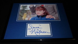 Denise Nickerson Signed Framed 11x14 Photo Display Willy Wonka Violet B - $48.73