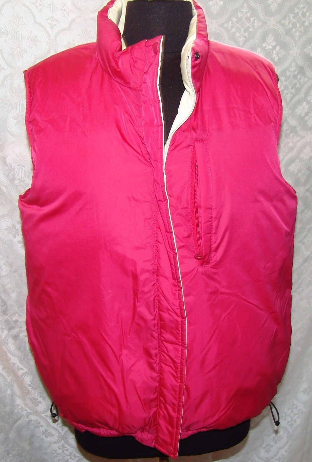 8e30abe740cd4 Lands End M 10 12 Womens Reversible Vest and 15 similar items