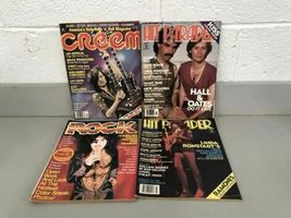 Lot (13) Vintage Rock Scene Hit Parader Creem Magazine KISS 1975-1979 Aerosmith image 6