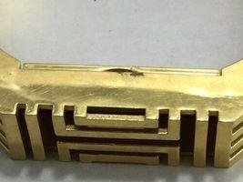 Tory Burch FitBit Gold Tone Holder Hinge Bangle Case Band Bracelet BT2426 Flex image 6