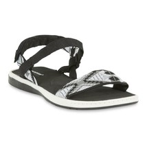 Joe Boxer Women's Celine cushioned sole, Flat  Sandal.- Pink, Blue or Black NWT - $14.16