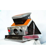 1970`s POLAROID INSTANT SX-70 FOLDING BELLOWS FILM CAMERA 1ST Version -S... - $50.00