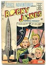 Space Adventures #18 1955- ROCKY JONES SPACE RANGER- vg - $107.19