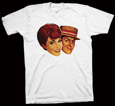 Mary Poppins T-Shirt Robert Stevenson, Julie Andrews, Dick Van Dyke NEW - $14.99+