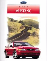 1997 Ford MUSTANG sales brochure catalog 97 US GT - $9.00
