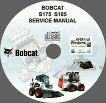 Bobcat S175 S185 Service Repair Manual - $15.00