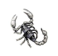 Men's Business Suit Brooches Pins Women Scarf Brooch, Scorpion